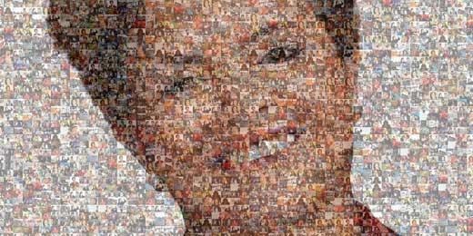 Veja mosaico em fotos da presidente eleita, Dilma Rousseff (PT)