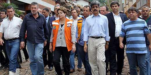 Dilma vê