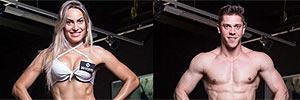 Montagem UOL sobre fotos John Edgard/Academia K@2/Fitness Model Agency