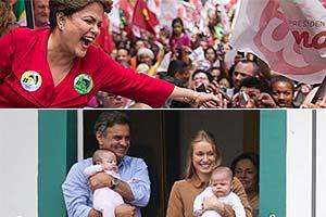 Felipe Dana/AP e Zanone Fraissat/Folhapress